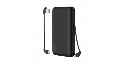 iPower Minimal 5 流動電源 10000mAh Type C + Lightning 輸出 iPhone Android 可用 IP66