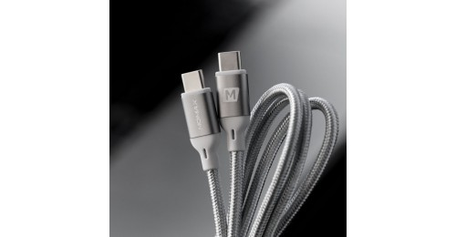 go-link Type-C to Type-C 100W PD 編織紋充電線 1.2M
